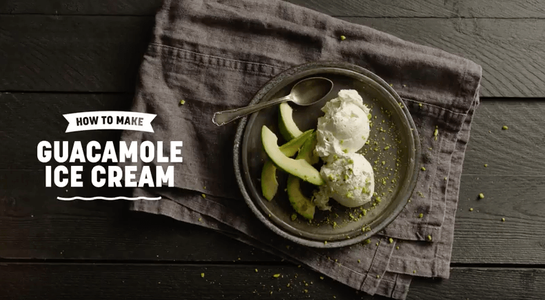 Guacamole Ice Cream