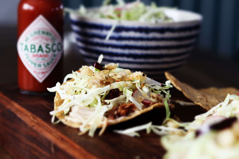 Pozole Salad Tostada