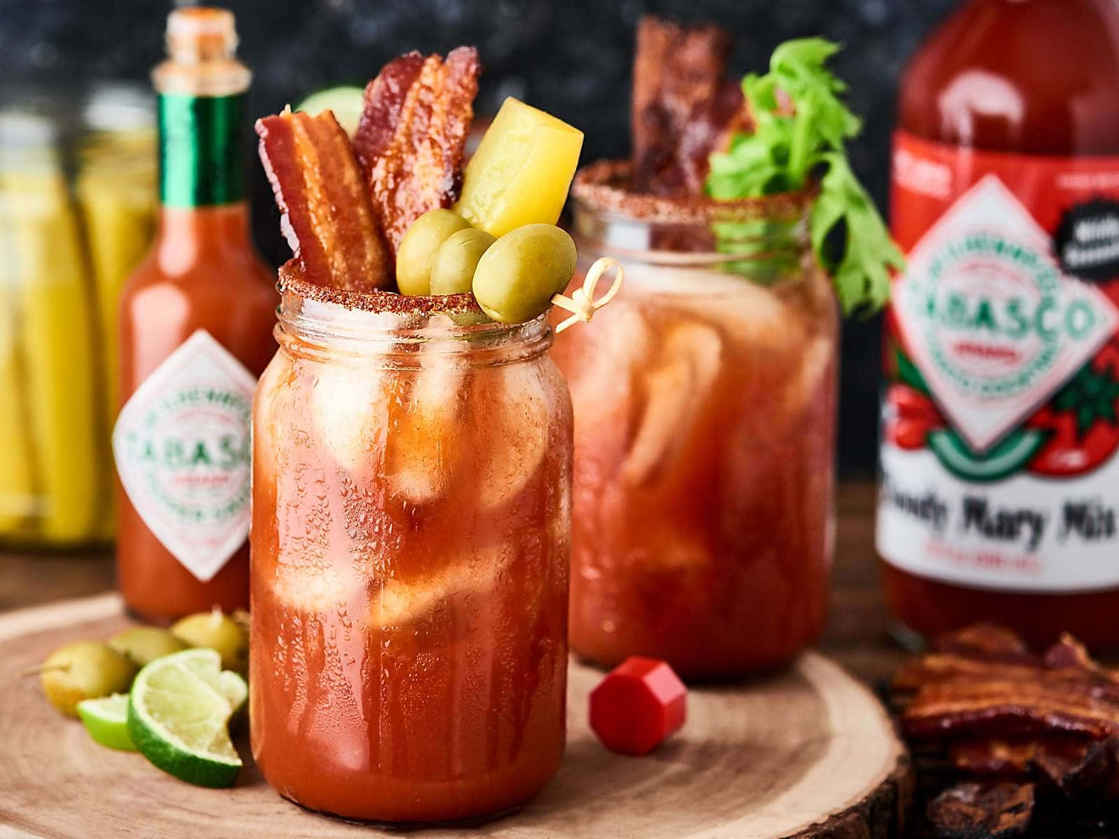 Spicy Bloody Mary Recipe Tabasco Brand Pepper Sauce