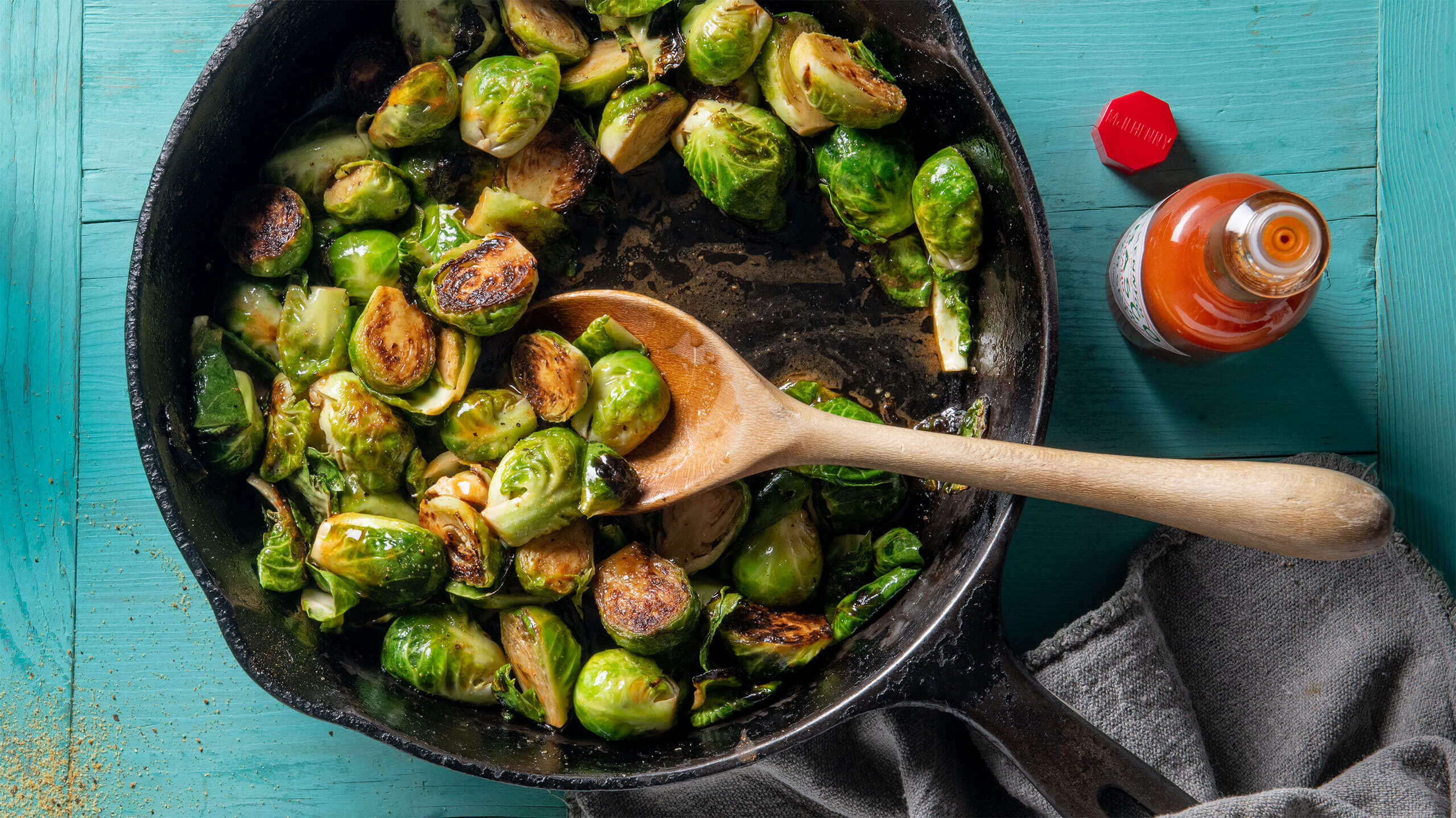 Little Louie's Brussel Sprouts