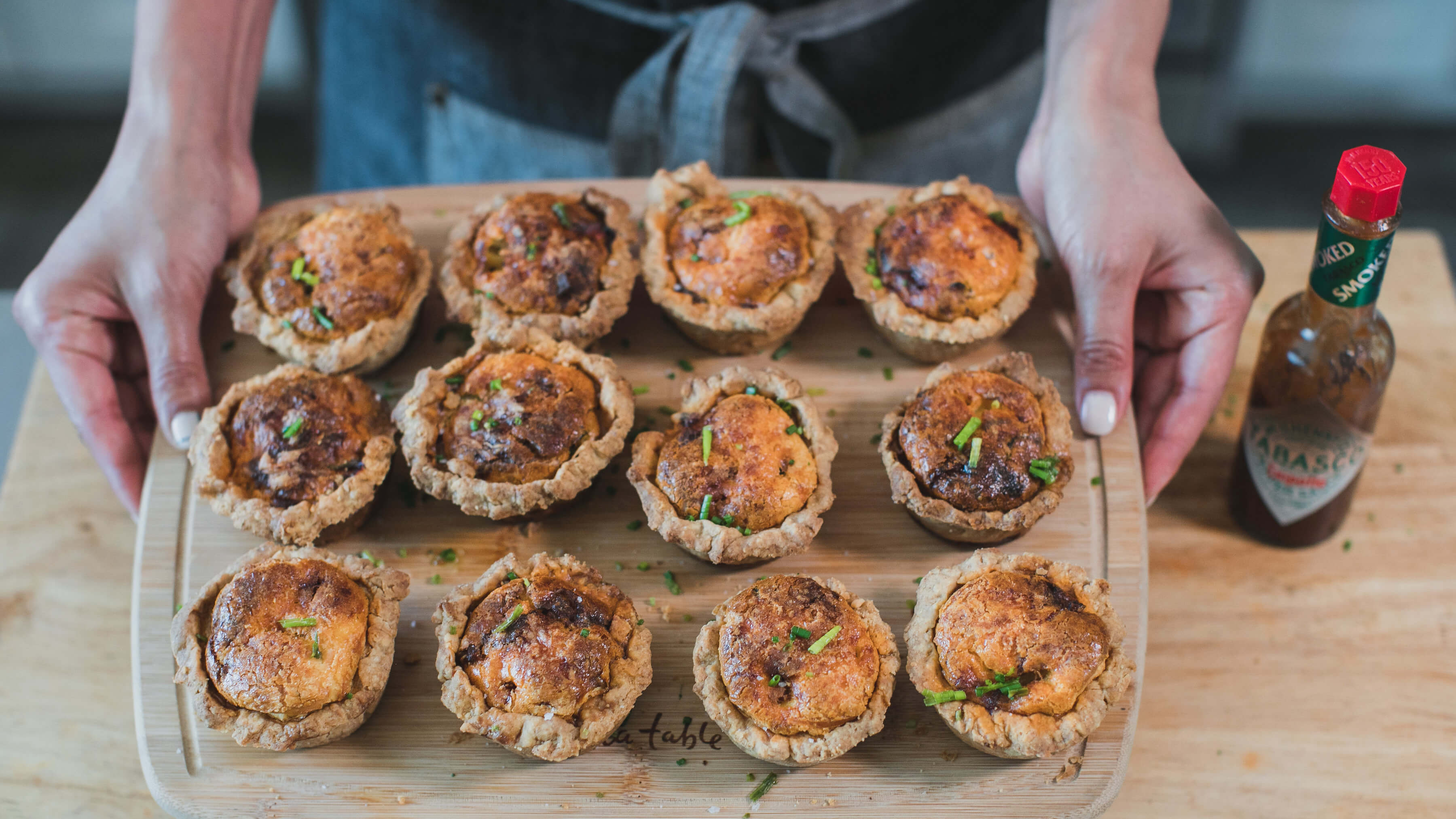 Chorizo Breakfast Quiche Muffins