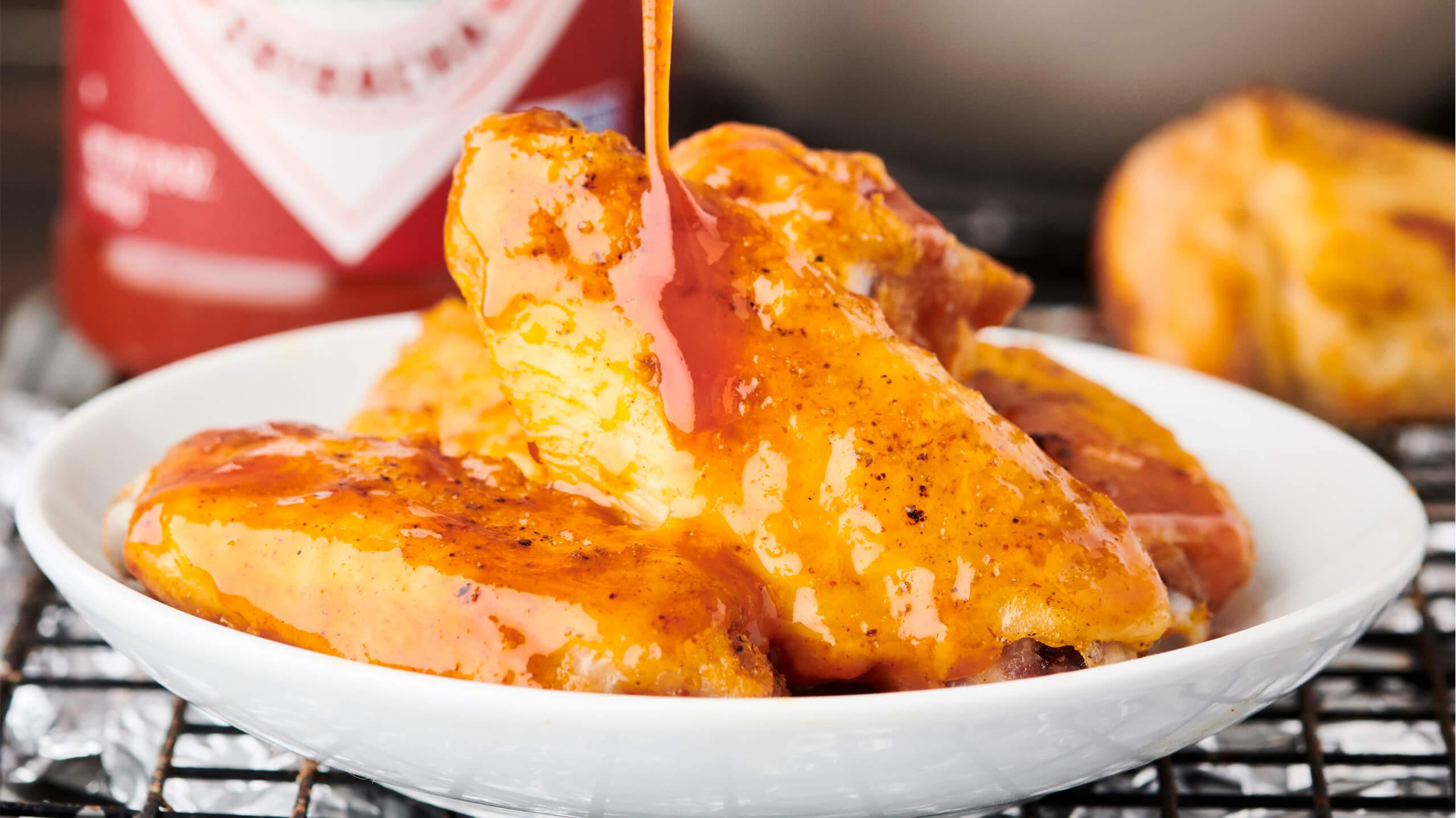 Honey Sriracha Wing Sauce
