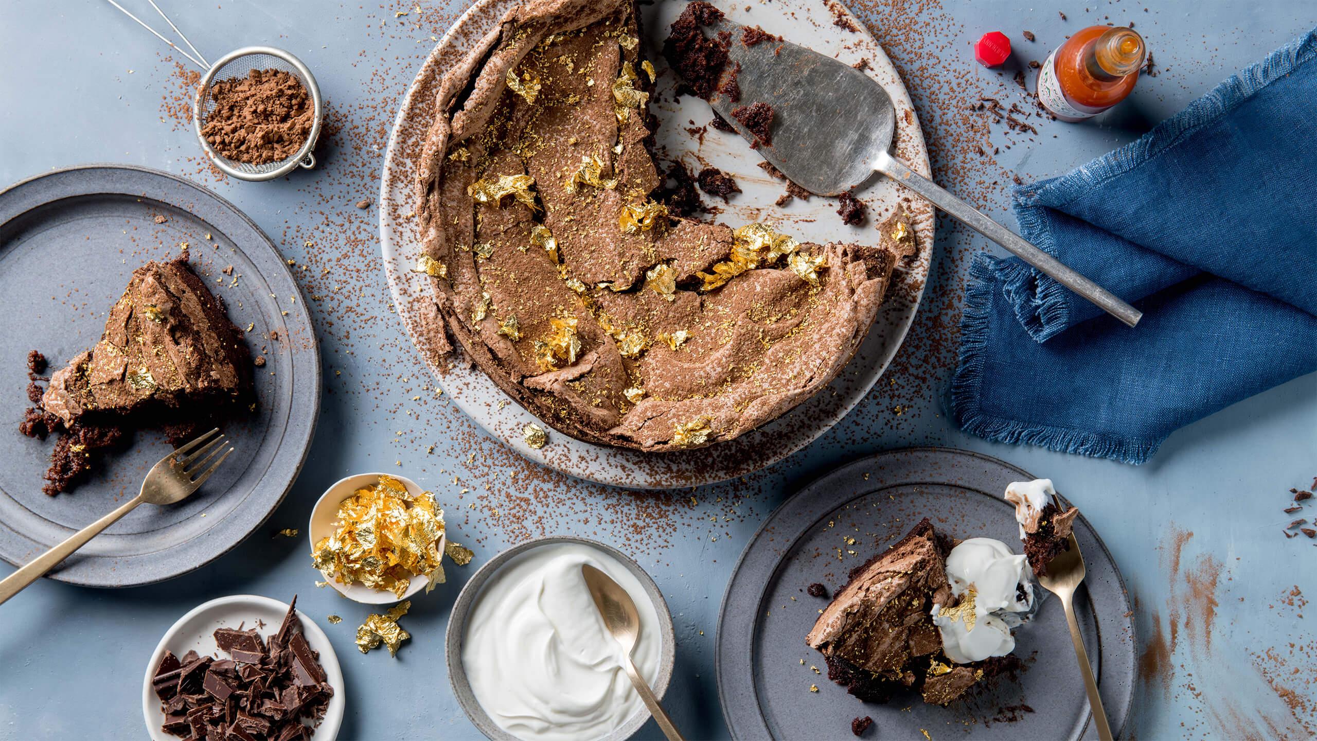Avery Island Double Bake Golden Brownie