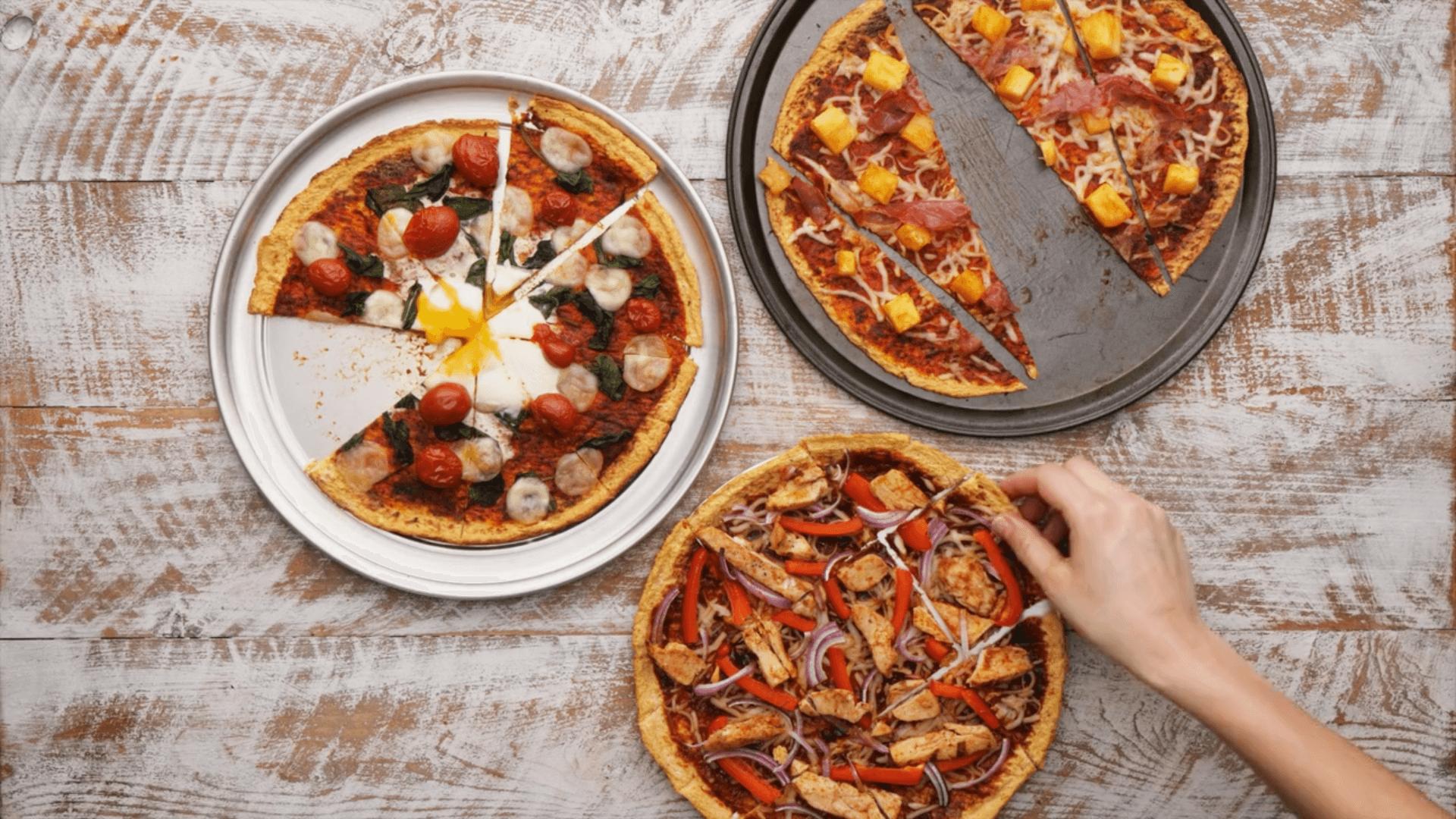 Spicy Cauliflower Pizza Base