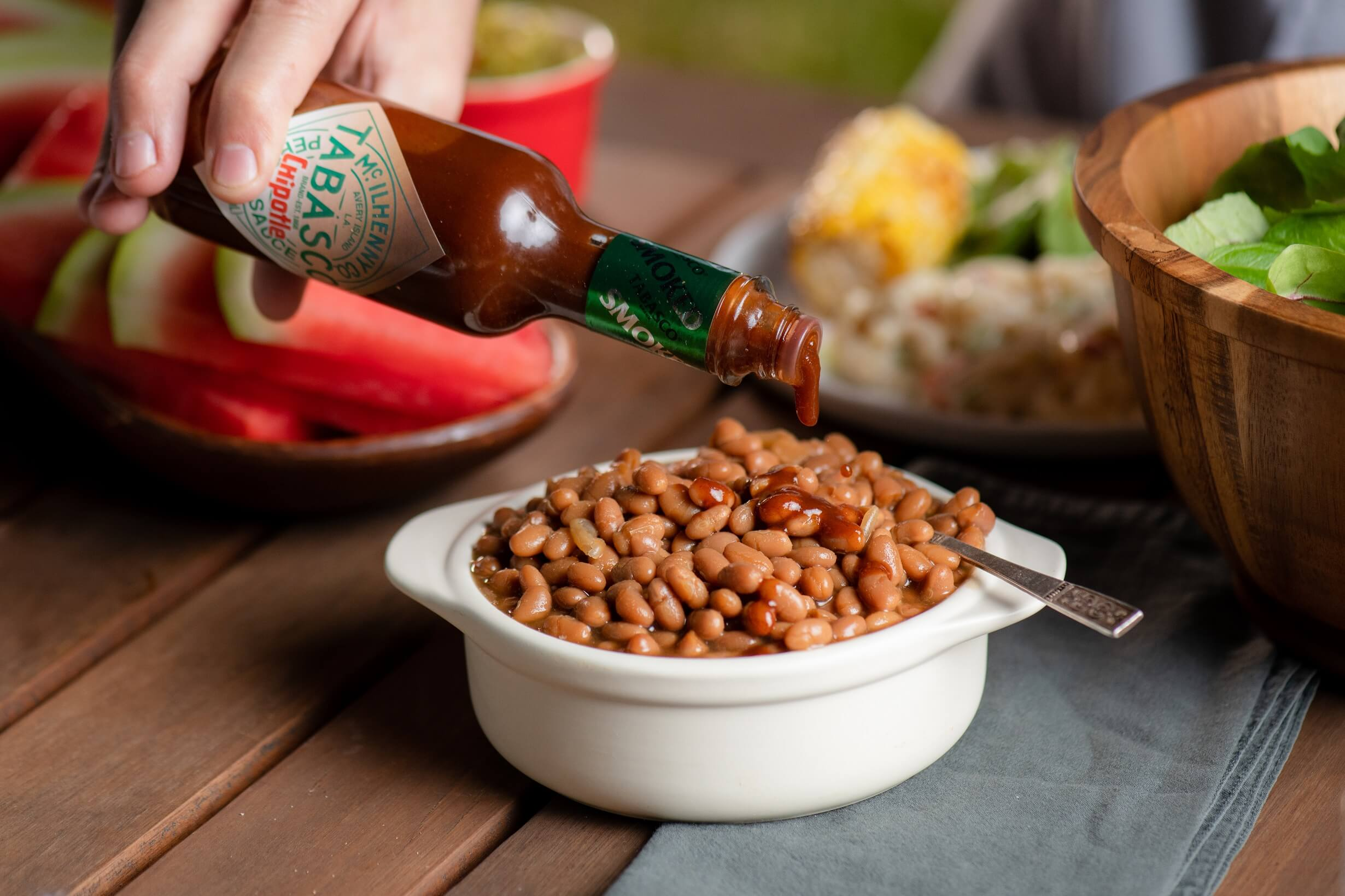 1-Step Chipotle Baked Beans