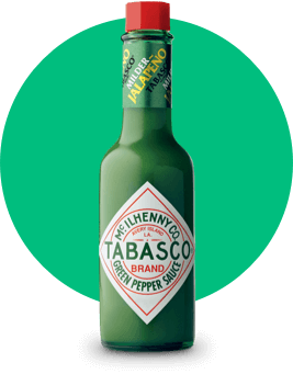 TABASCO<sup>®</sup> Green PepperSauce bottle