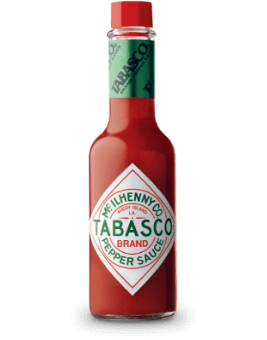 TABASCO<sup>®</sup><br/>Pepper Sauce bottle