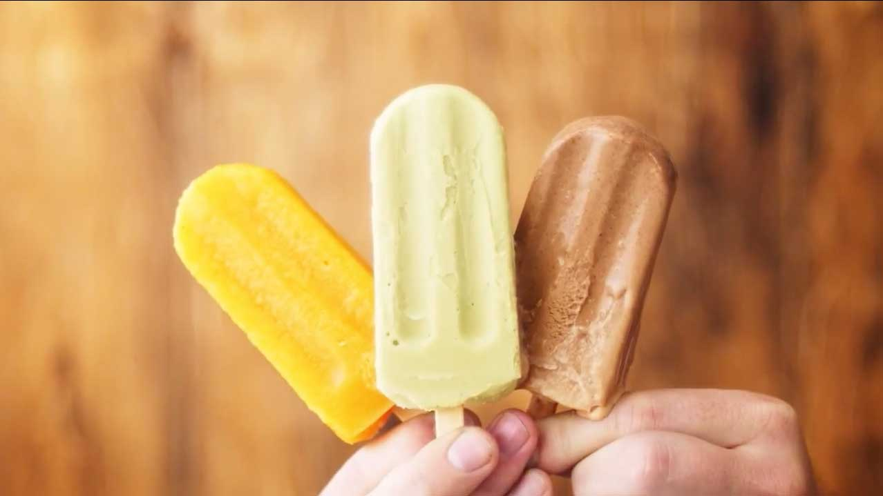 Iced-spiced Mexican Coffee Paletas