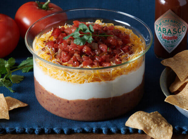 Three Layer Chipotle Bean Dip