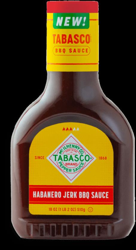 TABASCO® Brand Habanero Jerk BBQ Sauce bottle