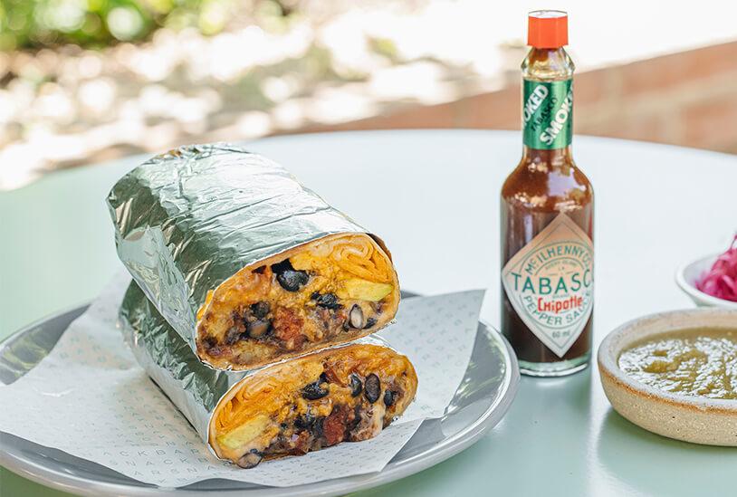 Breakfast Burrito by Snackbar