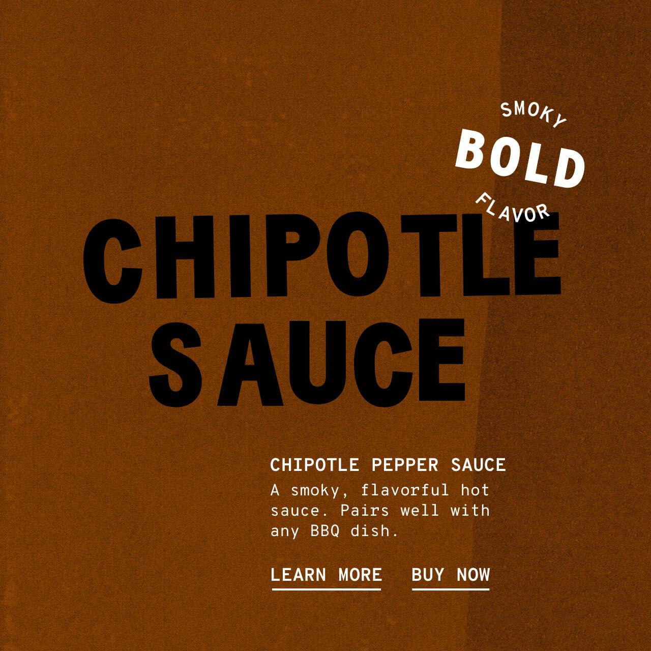 Chipotle Pepper Sauce - Description