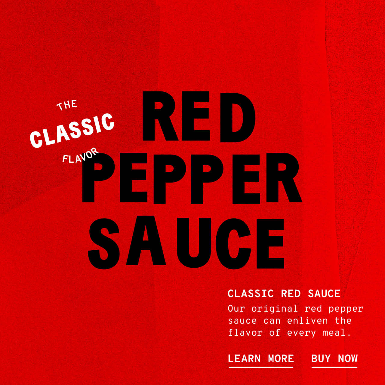 Classic Red Sauce - Description