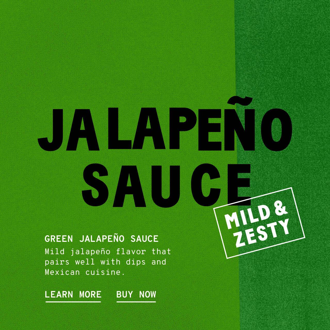 Green Jalapeno Sauce - Description