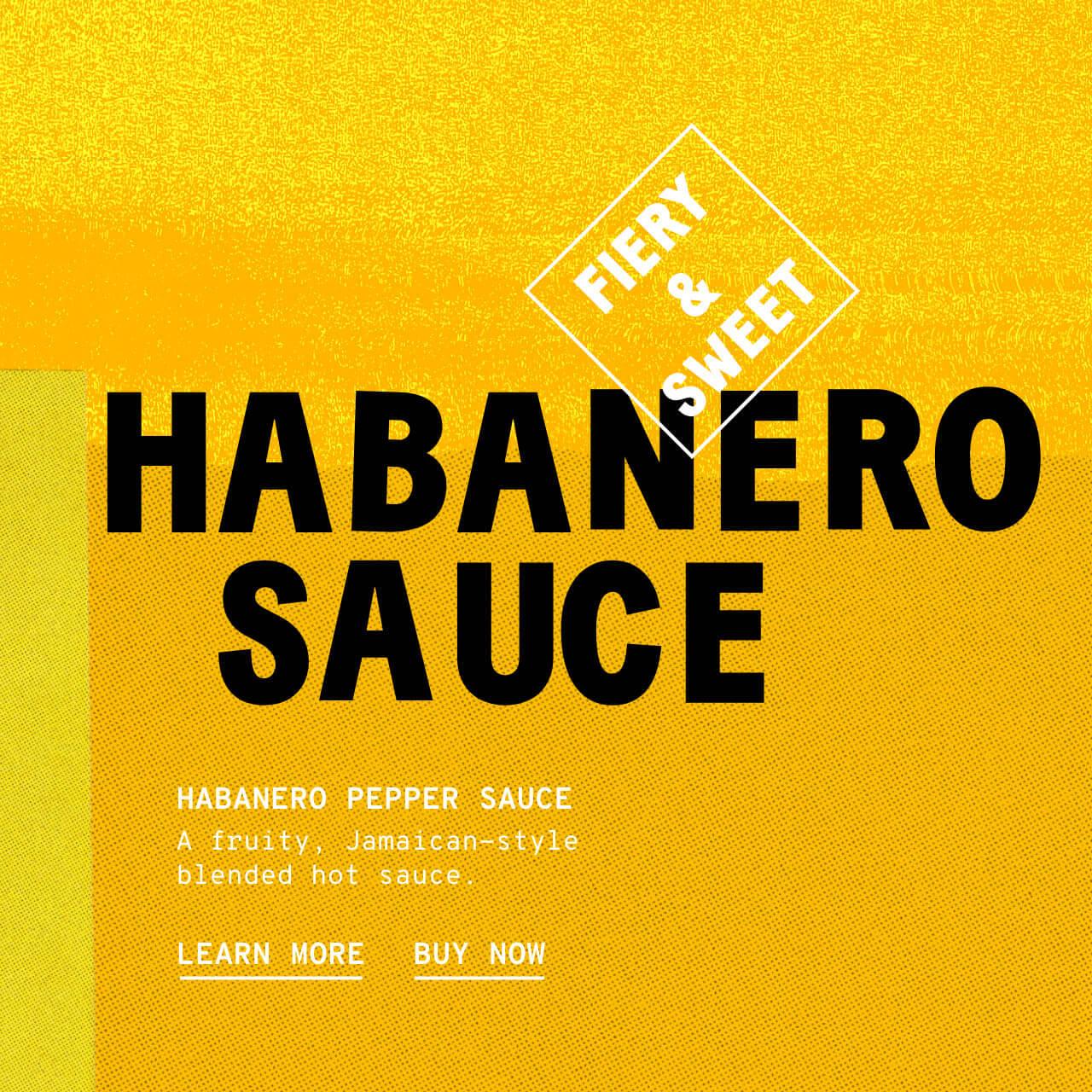 Habanero Pepper Sauce - Description