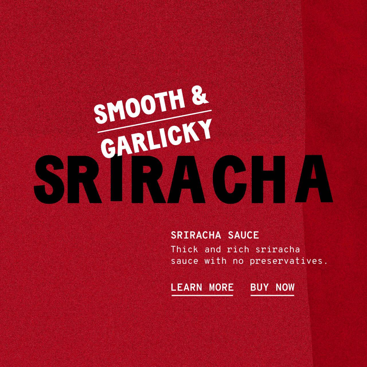 Sriracha Sauce - Description